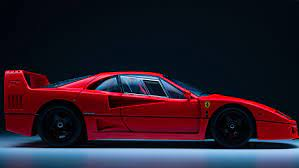It's powerful engine, coupled with an aerodynamic design, made it possible to reach top speeds of 201 mph. 16 Fun Facts About The Iconic Ferrari F40 Robb Report