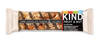 dark chocolate almond coconut kind nut bars