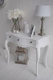 white hallway console table. Hall White Console Table - The Lighthouse Hallway U