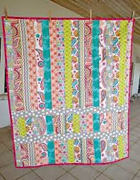 Jelly Roll Baby Quilt Patterns my first and last quilt is finished ... & Jelly Roll Baby Quilt Patterns my first and last quilt is finished so sew  easy Adamdwight.com