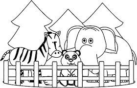 Zoo Coloring Pages | Wecoloringpage