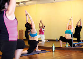 sweat stretch away stress with hot yoga