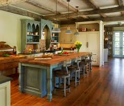 Rustic Looking Kitchens Rustic Kitchen Island Ideas