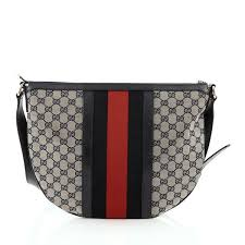 gucci vintage. buy gucci vintage web saddle messenger bag gg canvas medium 1315601 \u2013 trendlee