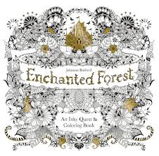 enchanted forest an inky quest coloring book johanna basford 6063887956574 books amazon ca