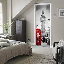 diy door stickers home decoration accessories wall stickers wallpaper bedroom decorations vinilos decorativos door l0 door