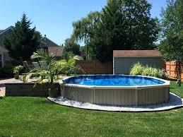 semi inground pool ideas. Semi Inground Pool Pictures Chic Swimming Ideas