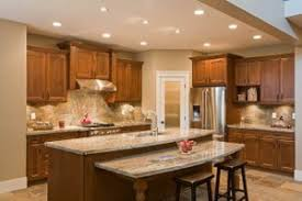 Kitchen Island With Built-In Table