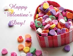 valentine s day candy hearts. Delighful Candy Happy Valentines Day Candy Hearts Postcard In Valentine S
