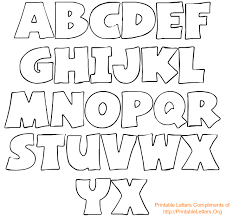 Coloring the alphabet is a good way to introduce the youngest learners to letters of the alphabet through an activity they like. 6 Best Printable Block Letters Small Medium Printablee Com