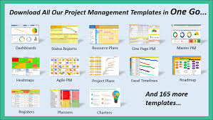 Project Management Report Templates One Page Project Manager Template Excel Project Management