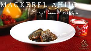 Easy Canned Mackerel Ajillo Recipe ...