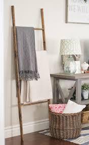diy blanket ladder paddington way
