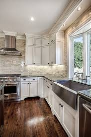 large stainless steel farmhouse sink i love