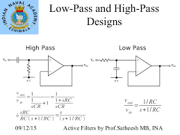 7 Active Filters Using Opamp