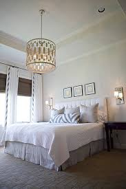 chandeliers in bedrooms master bedroom worlds away chandelier schumacher fabric