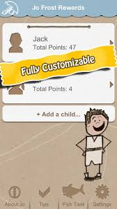 Jo Frost Rewards Family Parenting Behavior Reward