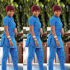 African Trousers Designs Trending Ankara Trouser And Top Styles For Ladies African