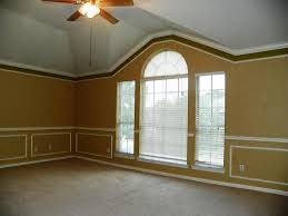 Vaulted Ceiling Crown Molding With Fan L Shaped And