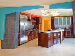 Orange Kitchens Asian Modern Kitchen Design With Colorful Ideas Kitchen