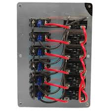 whitecap ss3309 black boat breaker switch panel 5011 great boat wiring tips at Marine Boat Wiring