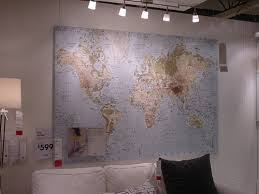 help me find a huge wall map