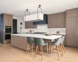 modern kitchen furniture. modern open concept kitchen ideas example of a minimalist galley light wood floor and brown furniture