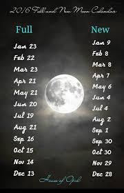 Full Moon Calendar Calendar Yearly Printable