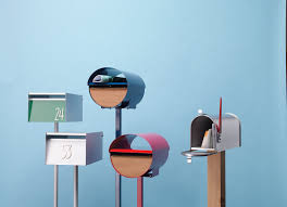 modern mailbox dwell. Beautiful Modern 5 Modern Mailboxes In Mailbox Dwell B