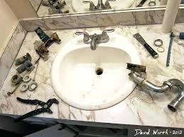 replacing bathroom drain how to install bathroom sink stopper faucet design how to install bathroom sink