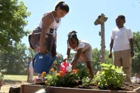 garden grants. Students At George E. Wilson Elementary School In Hamilton, New Jersey. Garden Grants R