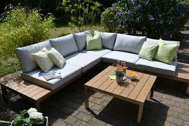 Bomey Aluminium Lounge Set I Gartenmöbel Set Orlando 2 Teilig I