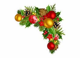 Christmas Corner Decorations Png Download Christmas