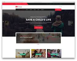 17 best wordpress themes for non profit charity organizations alone simple charity wordpress website template
