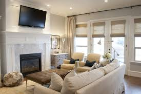 living room ideas with tv above fireplace