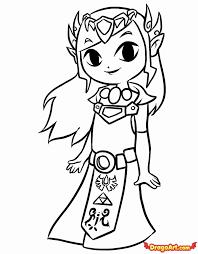 Zelda Coloring Pages Superb S Legend Zelda Coloring Cutecutepuppies