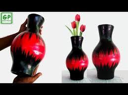 News Paper Flower Vase Videos Matching Newspaper Multi Color Flower Vase Easy