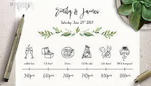 Timeline Templates 25 Beautiful Wedding Timeline Templates Mashtrelo