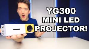 YG300 <b>LED</b> PROJECTOR REVIEW! - YouTube