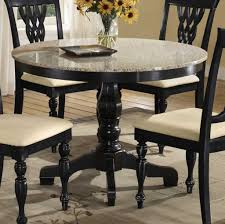 round granite kitchen table dining for high end and sophisticated