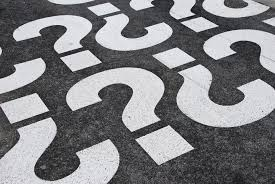 leadership powerful questions that will change your life forever question mark signs painted on a asphalt road surface