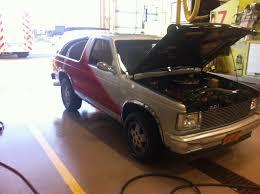 1985 Chevrolet S10 Blazer Custom 1/4 mile Drag Racing timeslip ...
