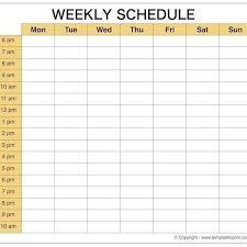 Scheduel Maker Weekly Calendar Maker Calendar Monthly Printable Schedule Maker