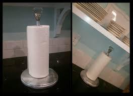 paper towel holder tutorial
