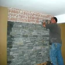 refacing brick fireplace covering with stone veneer best ideas on reface refacing brick fireplace