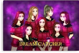 Dream Catcher Anime Mesmerizing Dreamcatcher Kpop Anime Dream Catcher Canvas Prints By