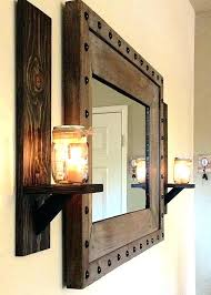 sconces glass candle sconce glass candle holders wall sconces rustic sconce holder mason jar in