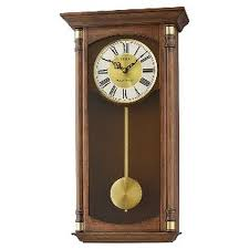 seiko wall clock qxh069b wooden