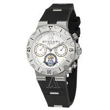 bulgari diagono professional sc38wsv sln fifa men s limited bulgari men s diagono professional s chrono watch