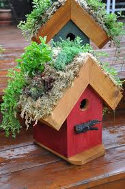 tuck additional moss into the open spots and edges of the roof frame